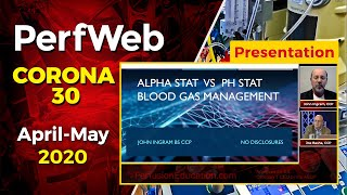 PH Stat and Alpha stat. Blood Gas Management - John Ingram, CCP