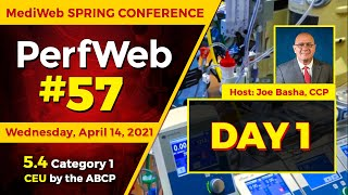 PerfWeb 57 — MediWeb Spring Conference — Day 1