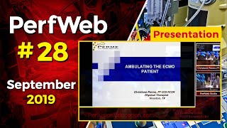 Ambulating the Extracorporeal Membrane Oxygenation (ECMO) patient