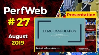 ECMO cannulation. Extracorporeal Membrane Oxygenation - Dr. Hany Samir