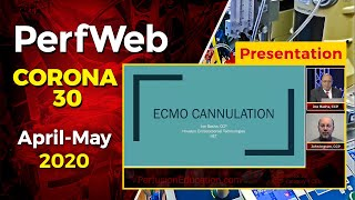 ECMO (Extracorporeal Membrane Oxygenation) -  Cannulation strategies