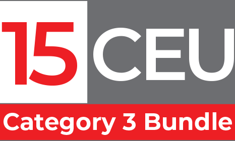 Category 3 Educational Bundle. A selection of educational videos worth up to 15 Category 3 CEU by the ABCP.