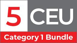 5 SDCE CEU Category 1 Bundle. A selection of educational videos worth up to 5 SDCE CEU Category 1 by the ABCP.